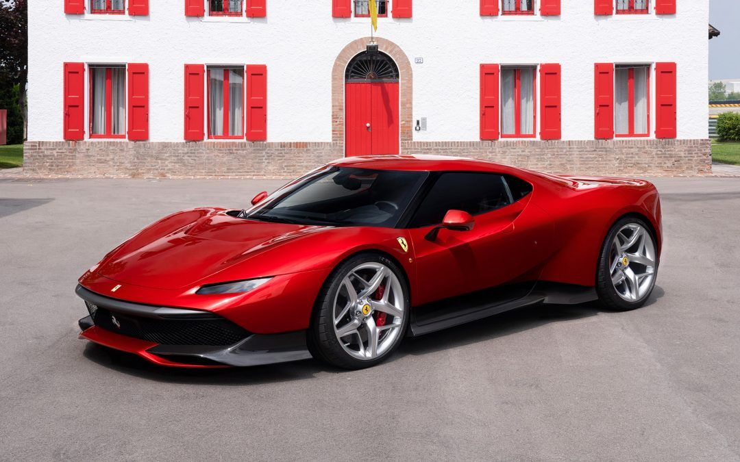 Ferrari SP38 Unveiled